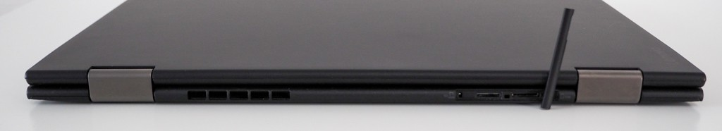 Back side of the X1 Yoga