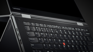 "X1 Yoga 2nd gen ""rise and fall"" keyboard in action"